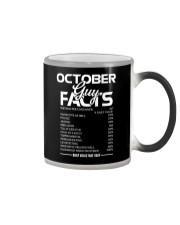 OCTOBER GUY FACTS Color Changing Mug thumbnail