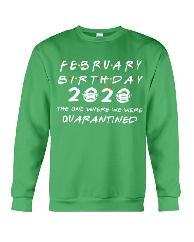 FEBRUARY BIRTHDAY 2020 WHERE WE WERE QUARANTINED