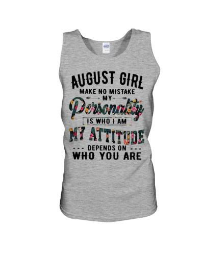 AUGUST GIRL MAKE NO MISTAKE
