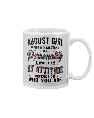 AUGUST GIRL MAKE NO MISTAKE