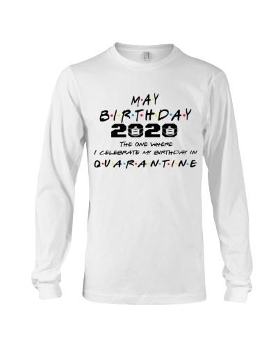 MAY BIRTHDAY 2020 CELEBRATE IN QUARANTINE