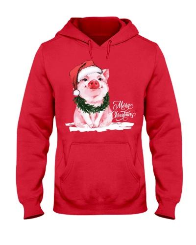 MERRY CHRISTMAS - PIG - FARMER