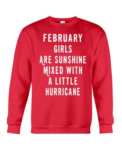 FEBRUARY GIRLS ARE SUNSHINE