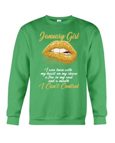 JANUARY GIRL - I CAN'T CONTROL