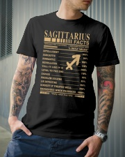 SAGITTARIUS FACTS Classic T-Shirt lifestyle-mens-crewneck-front-6