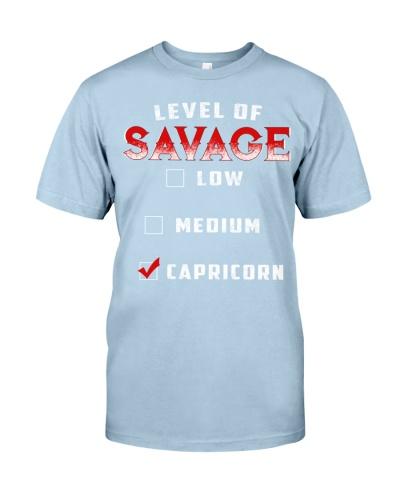 LEVEL OF SAVAGE - CAPRICORN