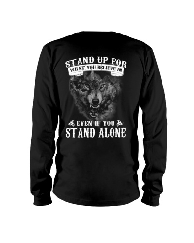 WOLVES - STAND UP FOR WHAT YOU BELIEVE IN