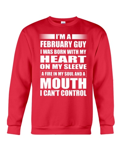 LIMITED EDITION - FEBRUARY GUY