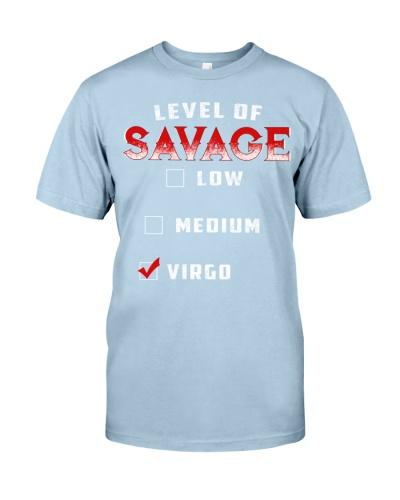 LEVEL OF SAVAGE - VIRGO