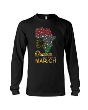 QUEENS ARE BORN IN MARCH Long Sleeve Tee thumbnail