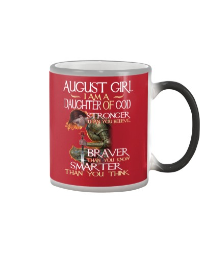 AUGUST GIRL - I AM A DAUGHTER OF GOD