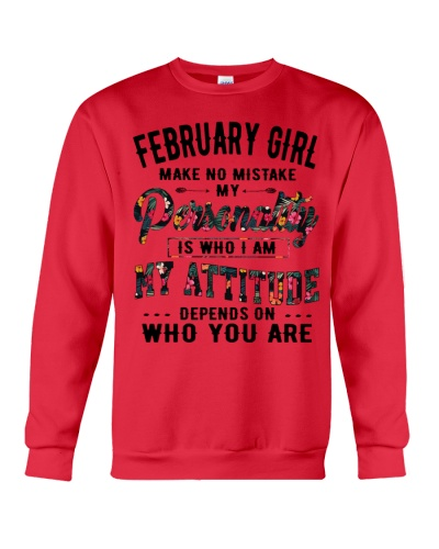 FEBRUARY GIRL MAKE NO MISTAKE