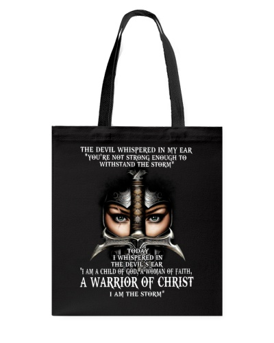 DEVIL WHISPERED - WARRIOR OF CHRIST - JESUS