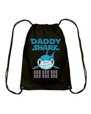 DADDY SHARK DOO DOO DOO Drawstring Bag thumbnail