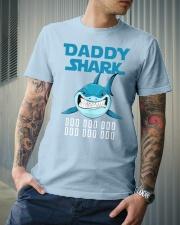 DADDY SHARK DOO DOO DOO Classic T-Shirt lifestyle-mens-crewneck-front-6