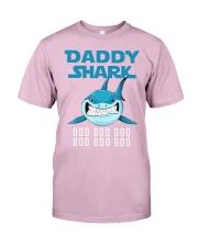 DADDY SHARK DOO DOO DOO Classic T-Shirt front