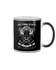 VIKINGS VALHALLA - WHOS STANDING BEHIND ME Color Changing Mug thumbnail