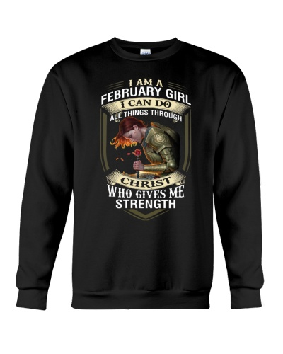 FEBRUARY GIRL - I CAN DO ALL THINGS THROUGH CHRIST