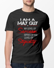 I AM A MAY GUY Classic T-Shirt lifestyle-mens-crewneck-front-13