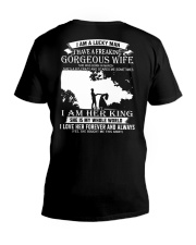 GORGEOUS MARCH WIFE V-Neck T-Shirt thumbnail