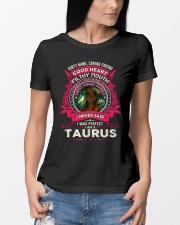 I NEVER SAID I WAS PERFECT - TAURUS Ladies T-Shirt lifestyle-women-crewneck-front-10