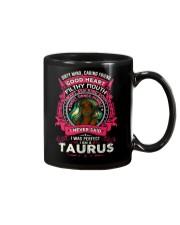 I NEVER SAID I WAS PERFECT - TAURUS Mug thumbnail