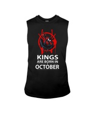 KINGS ARE BORN IN OCTOBER Sleeveless Tee thumbnail