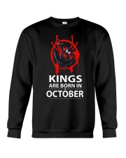 KINGS ARE BORN IN OCTOBER Crewneck Sweatshirt thumbnail