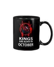 KINGS ARE BORN IN OCTOBER Mug thumbnail