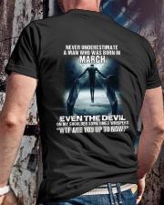 DEVIL WHISPERED - MARCH Classic T-Shirt lifestyle-mens-crewneck-back-2