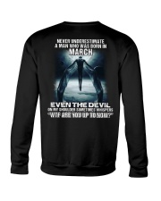 DEVIL WHISPERED - MARCH Crewneck Sweatshirt thumbnail