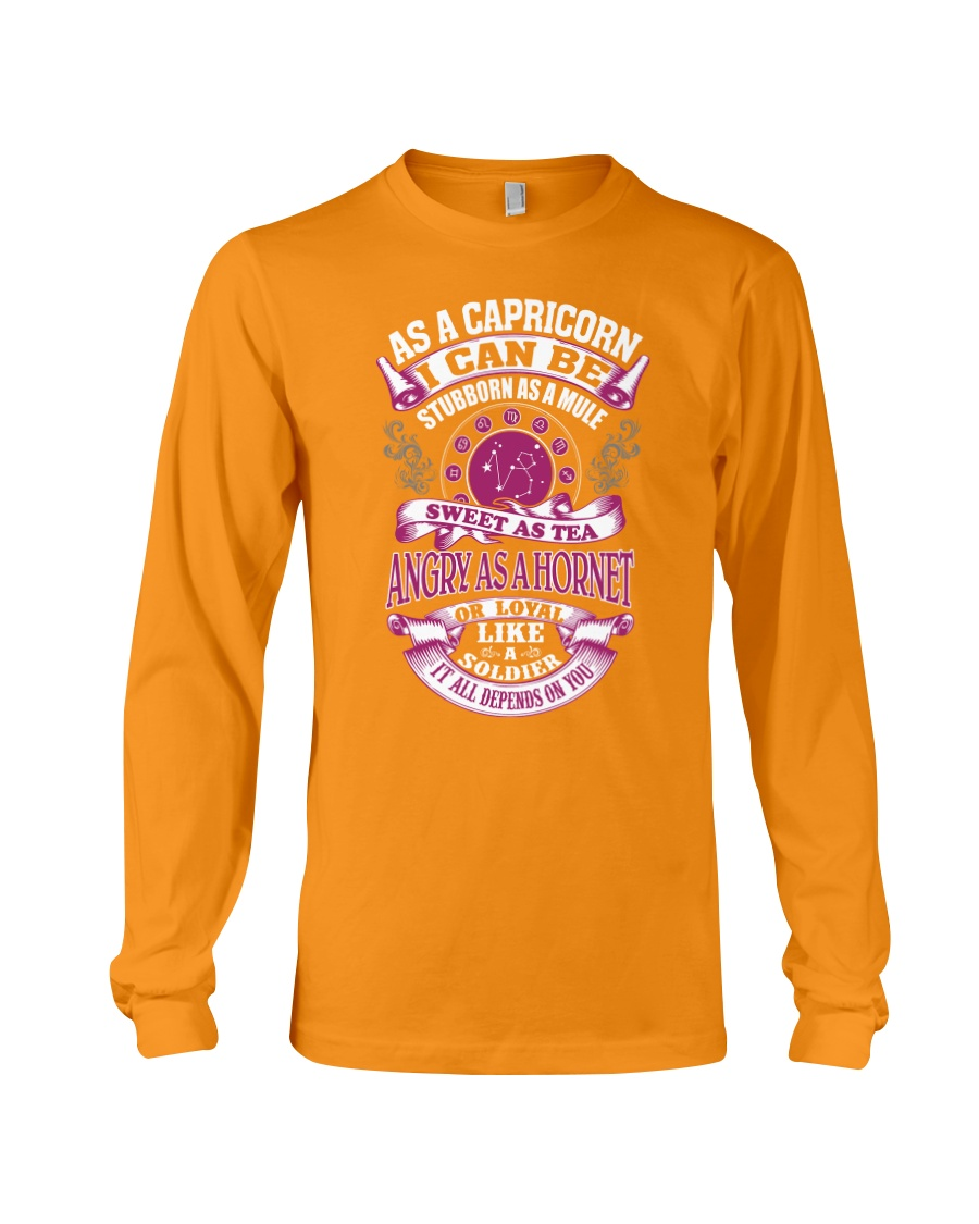 AS A CAPRICORN I CAN BE Long Sleeve Tee