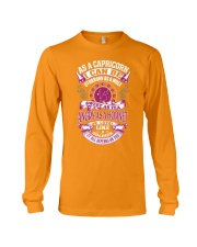 AS A CAPRICORN I CAN BE Long Sleeve Tee front