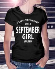 SEPTEMBER GIRL WALKS IN Ladies T-Shirt lifestyle-women-crewneck-front-7