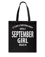 SEPTEMBER GIRL WALKS IN Tote Bag thumbnail