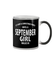 SEPTEMBER GIRL WALKS IN Color Changing Mug thumbnail