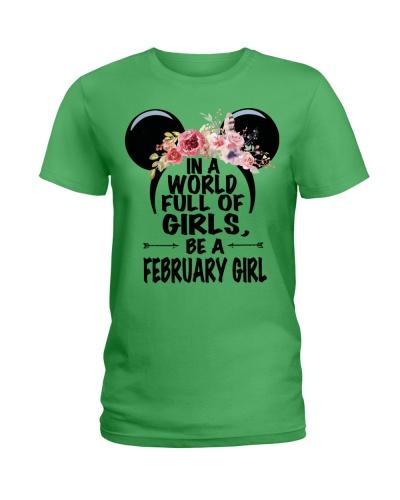 BE A FEBRUARY GIRL