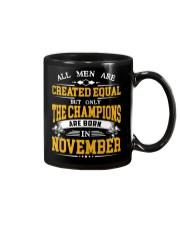 THE CHAMPIONS ARE BORN IN NOVEMBER Mug thumbnail
