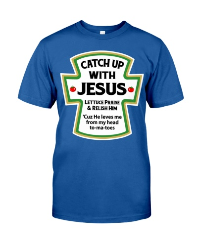 CATCH UP WITH JESUS - WARRIOR OF CHRIST