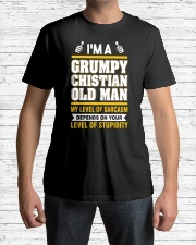 GRUMPY CHISTIAN OLD MAN - WARRIOR OF CHRIST Classic T-Shirt lifestyle-mens-crewneck-front-1