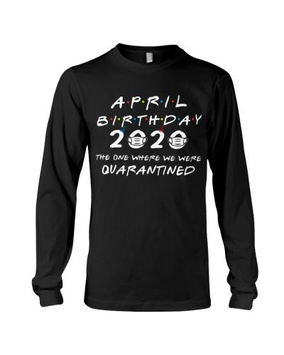 APRIL BIRTHDAY 2020 WHERE WE WERE QUARANTINED