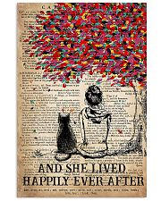 AND SHE LIVED HAPPILY EVER AFTER - CAT 16x24 Poster front