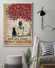 AND SHE LIVED HAPPILY EVER AFTER - CAT 16x24 Poster lifestyle-poster-1