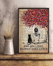 AND SHE LIVED HAPPILY EVER AFTER - CAT 16x24 Poster lifestyle-poster-3