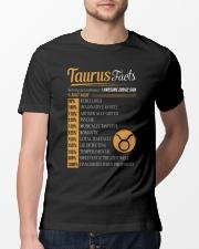 TAURUS FACTS Classic T-Shirt lifestyle-mens-crewneck-front-13