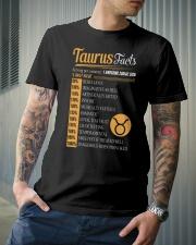 TAURUS FACTS Classic T-Shirt lifestyle-mens-crewneck-front-6