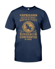 CAPRICORN - HATED BY MANY Classic T-Shirt front