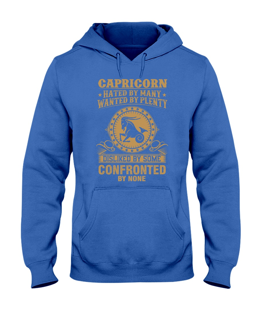 CAPRICORN - HATED BY MANY Hooded Sweatshirt