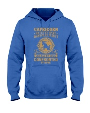 CAPRICORN - HATED BY MANY Hooded Sweatshirt front