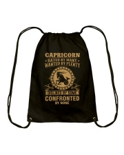 CAPRICORN - HATED BY MANY Drawstring Bag thumbnail